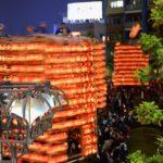 久喜提燈祭り 久喜駅西口駅前周辺地域