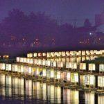 古利根川流灯まつり 杉戸町古利根川河畔