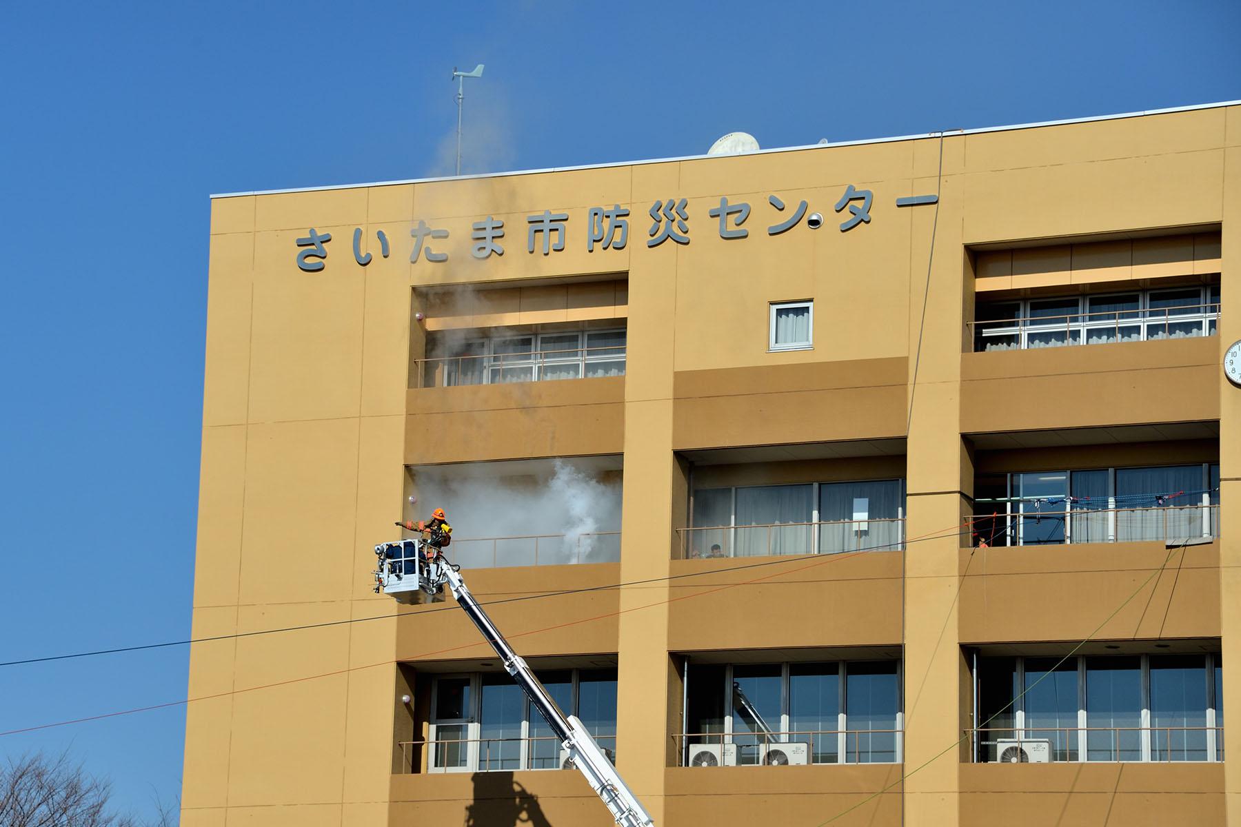 さいたま市消防出初式 大宮消防署訓練所