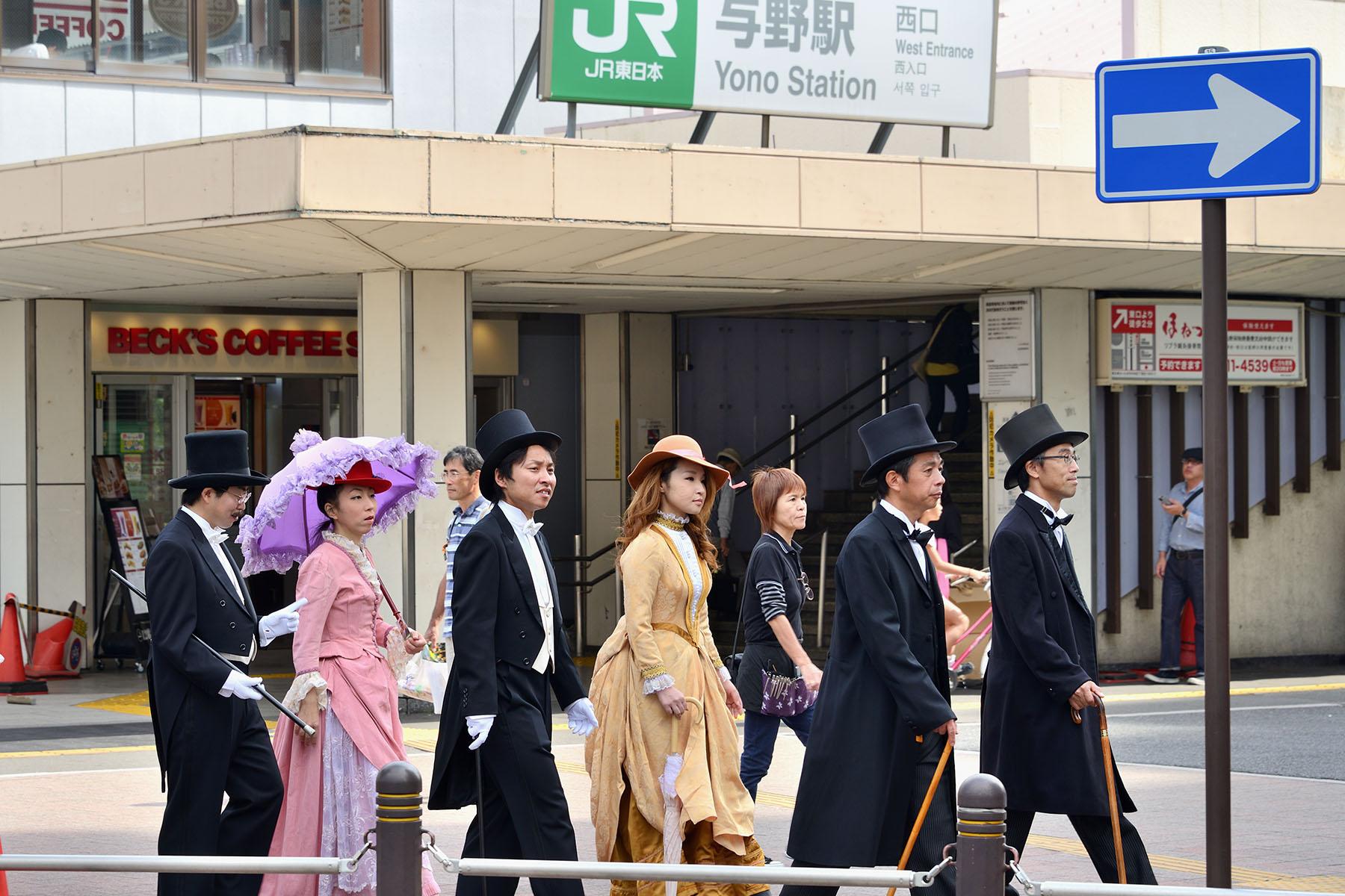 大正時代まつり 与野駅西口駅前通り周辺