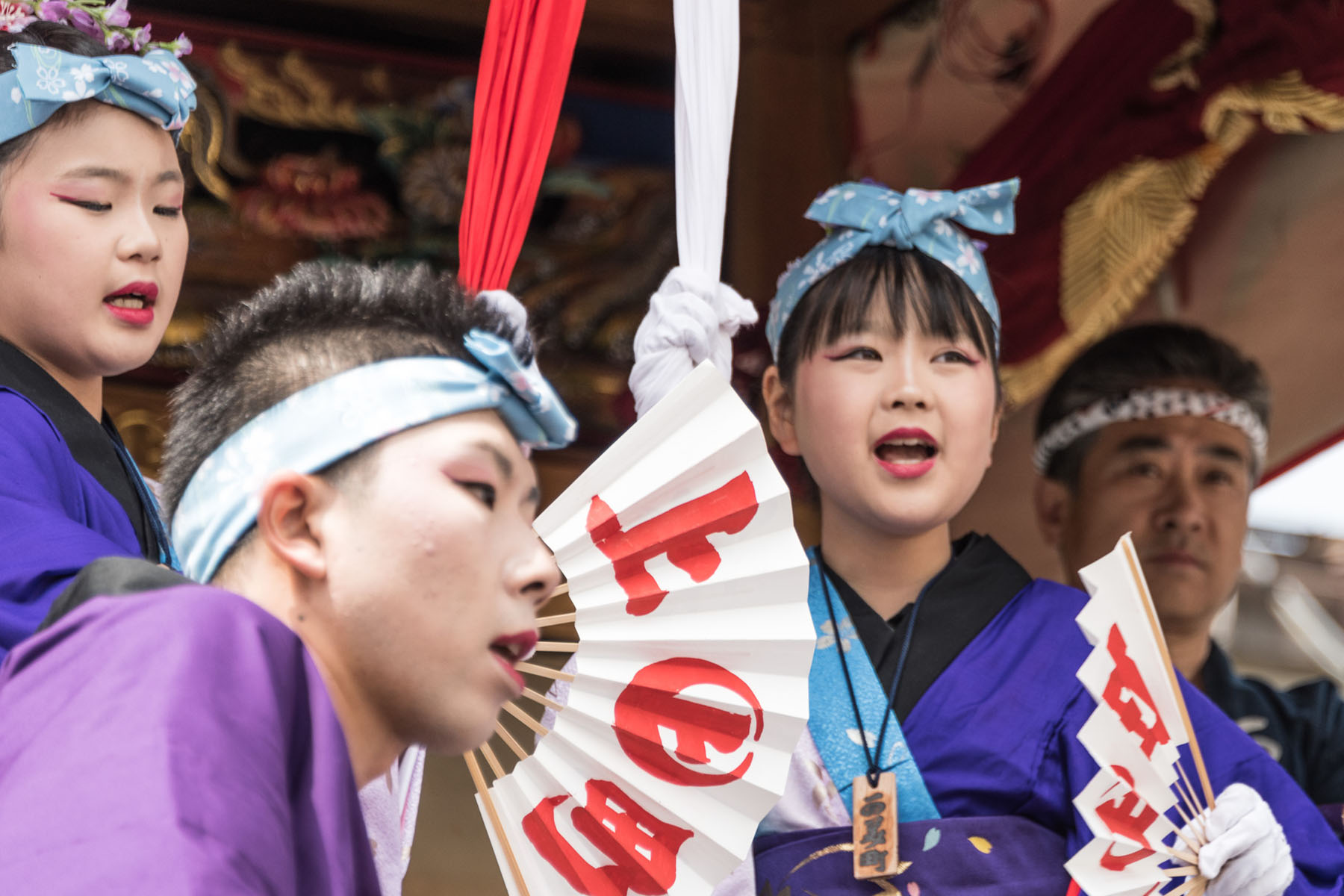 小鹿野春まつり 小鹿(おしか)神社例大祭