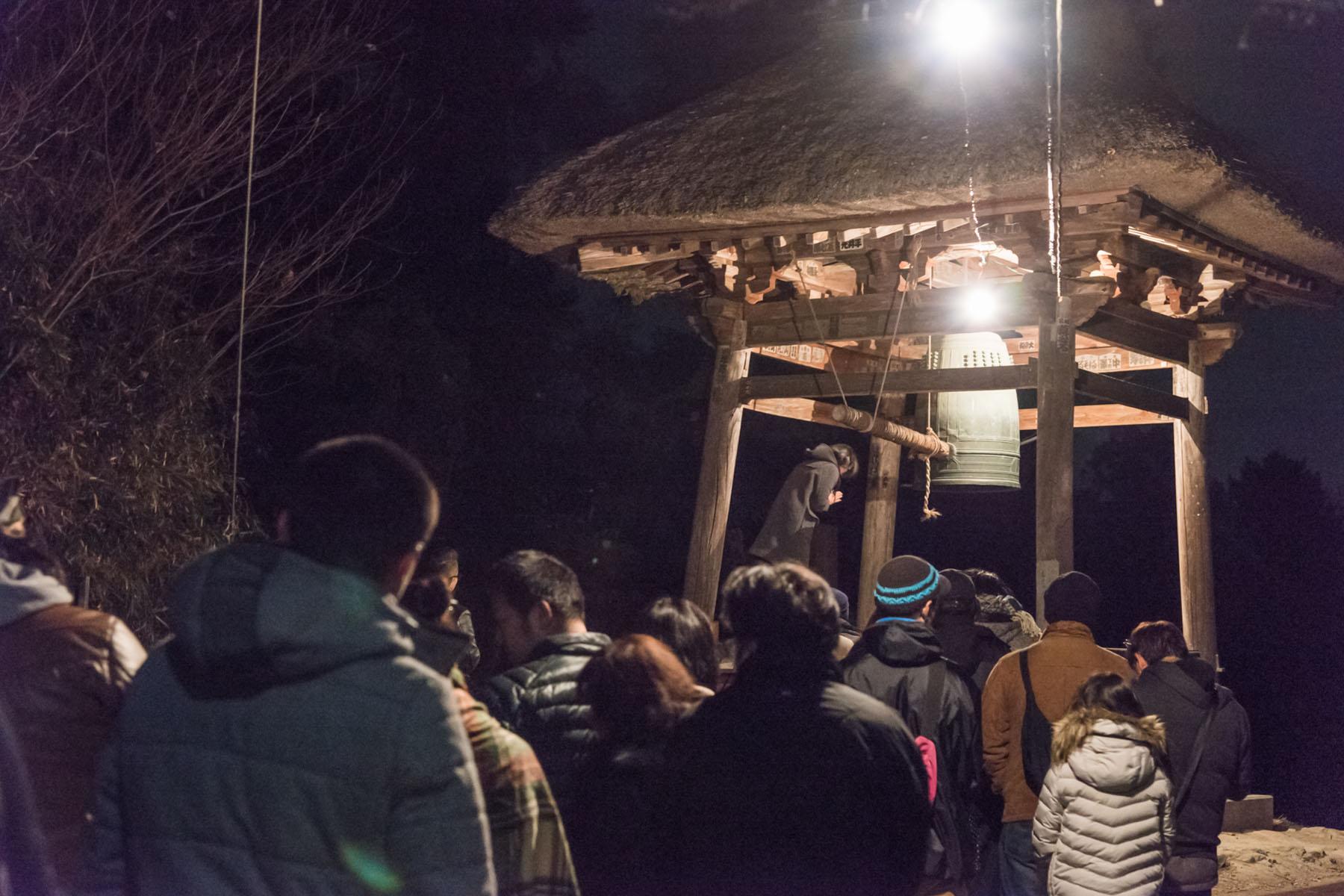 正法寺の除夜の鐘 坂東十番札所正法寺