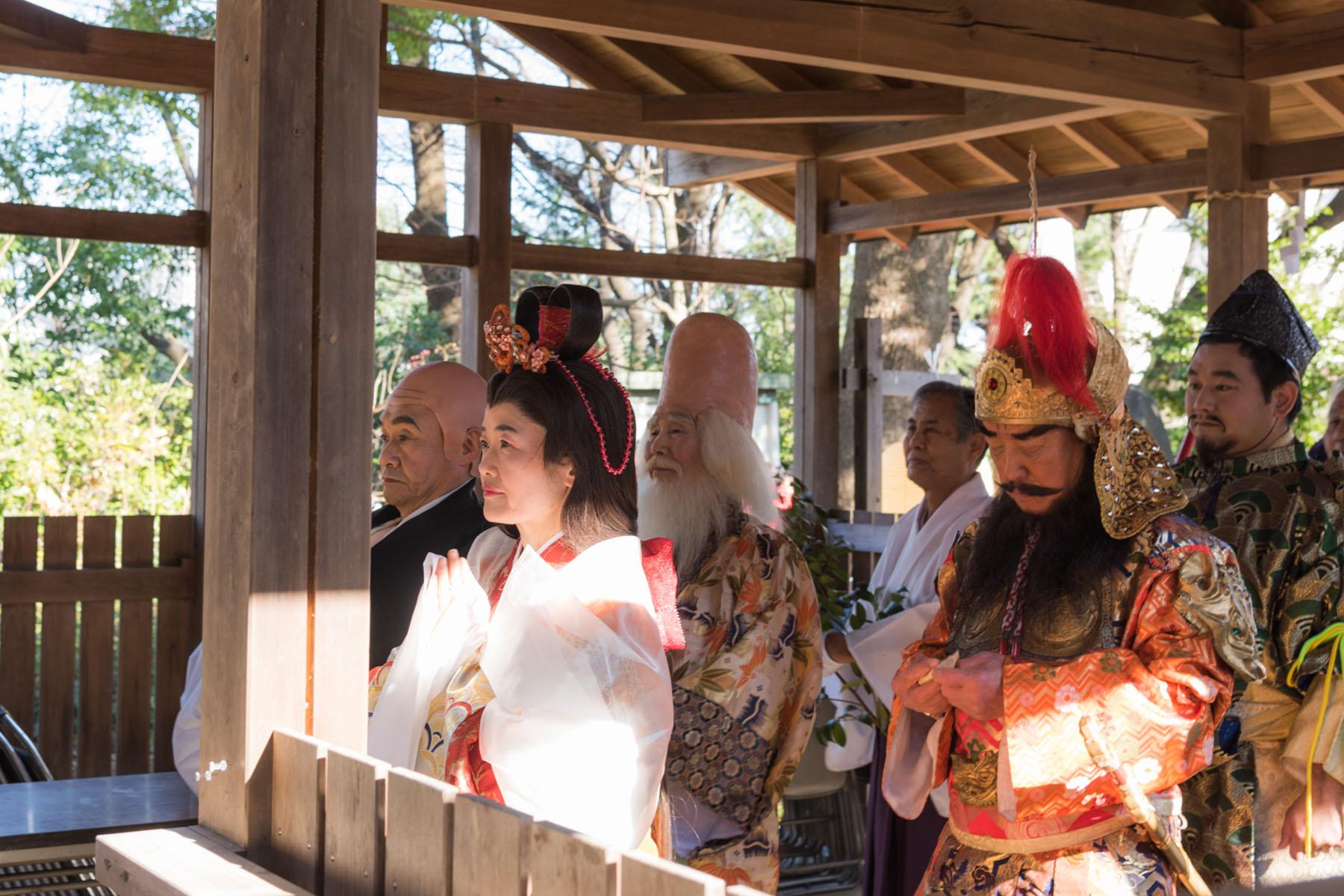 与野七福神仮装パレード 与野本町通り周辺