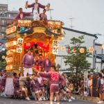幸手夏祭り(八坂の夏祭り) 幸手駅前通り・中央通り周辺