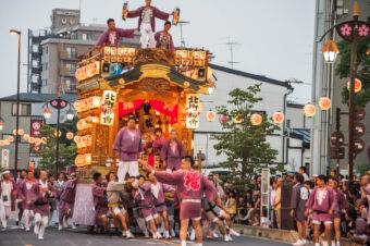 幸手夏祭り(八坂の夏祭り)