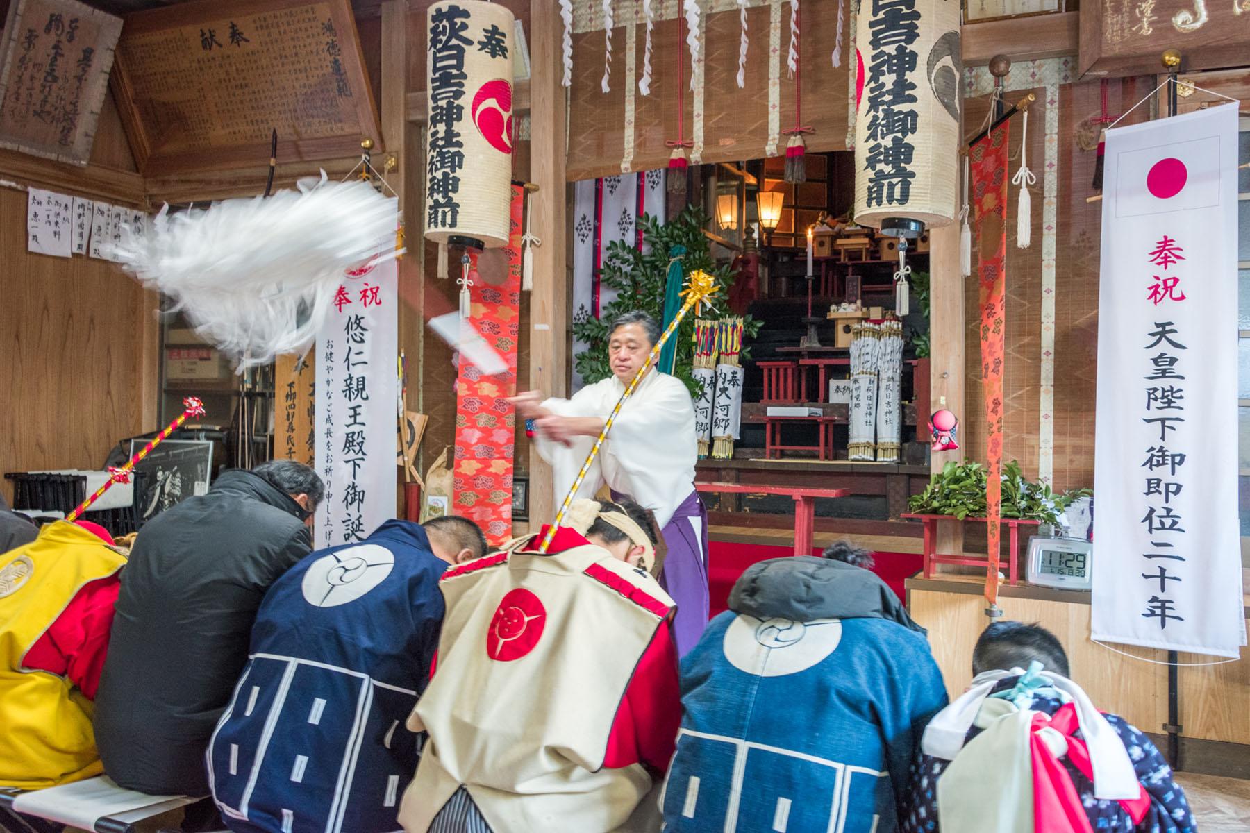 流鏑馬(やぶさめ)祭り 萩日吉神社