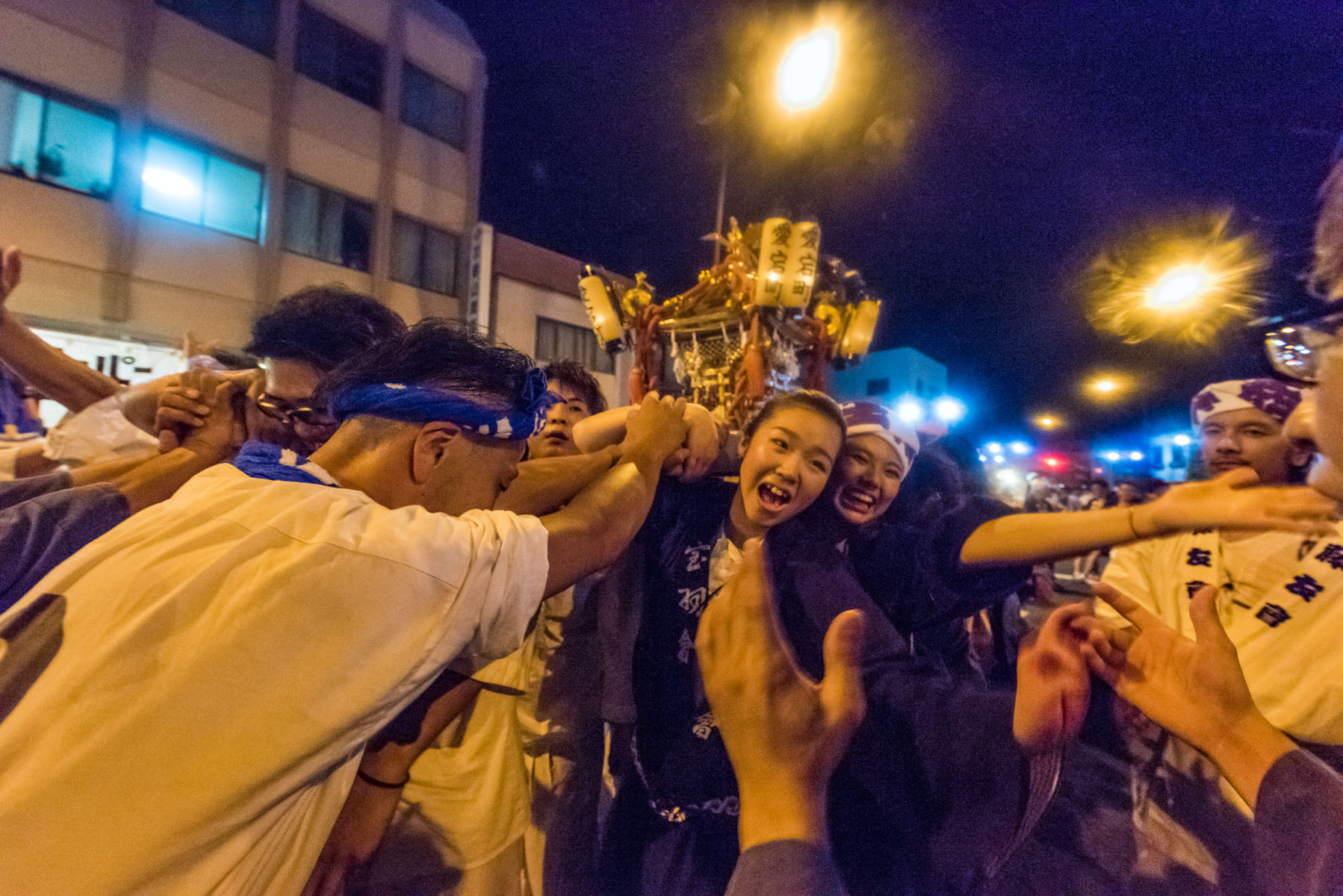 羽生てんのうさま夏祭り 羽生市内プラザ通りなど