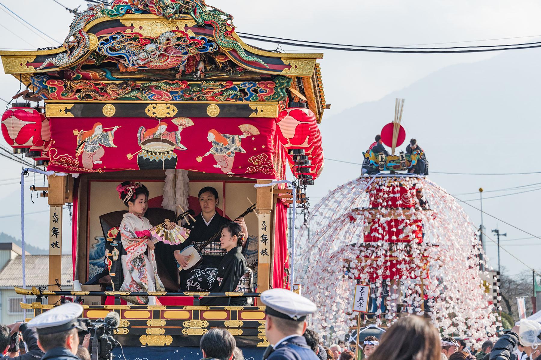 山田の春祭り 恒持神社