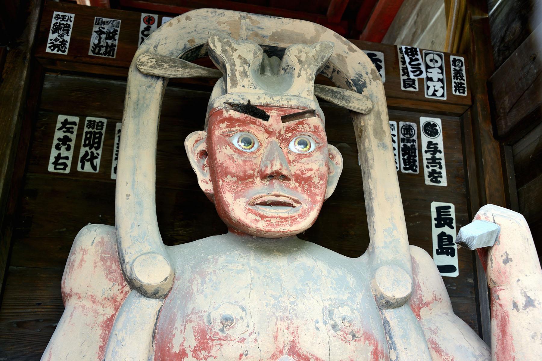 秩父札所二十二番  華台山・童子堂