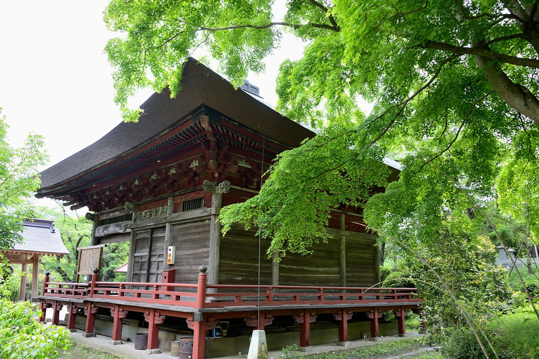 秩父札所二十三番  松風山・音楽寺