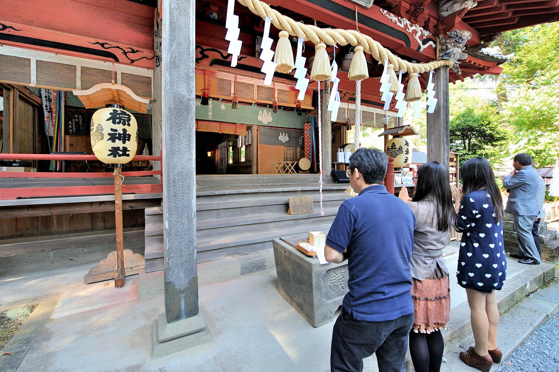 龍勢まつり 椋神社