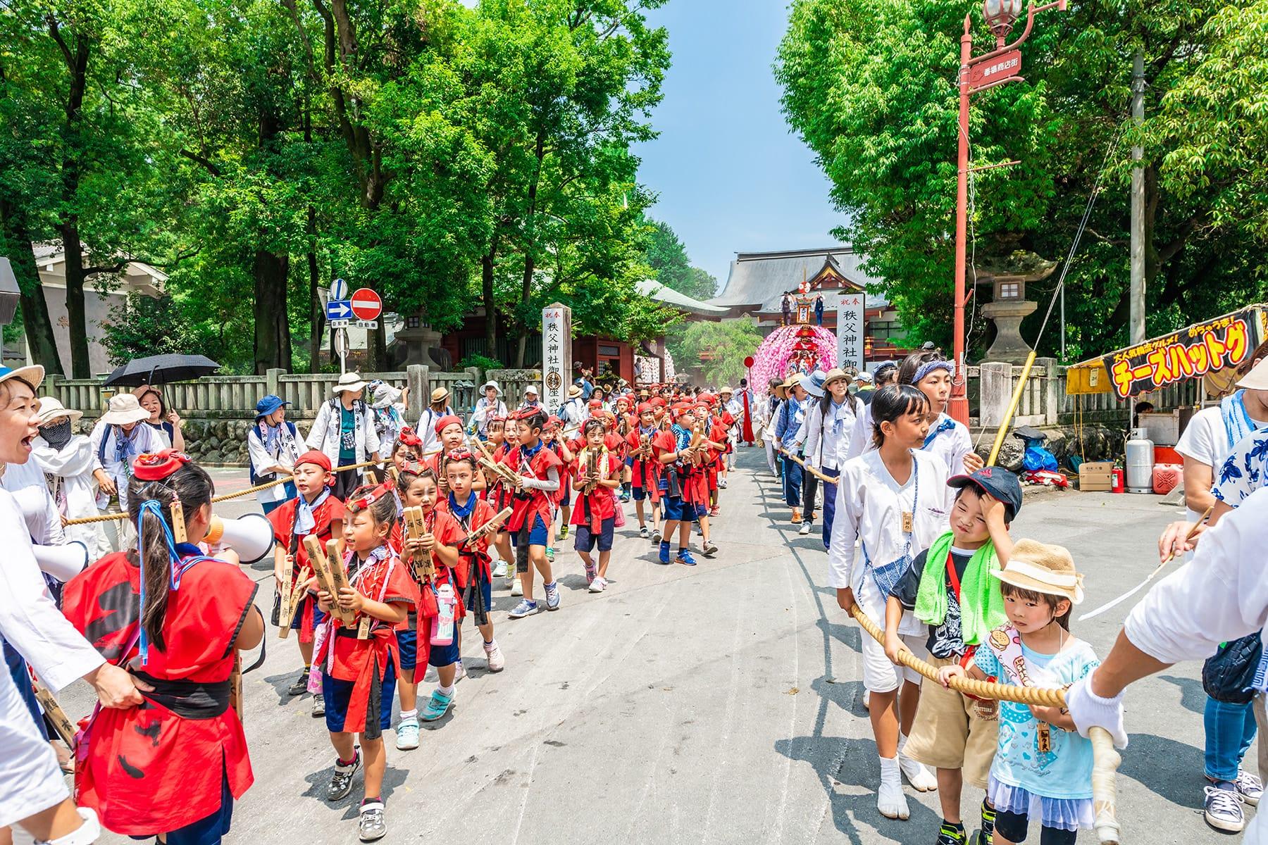 秩父川瀬祭|秩父市市街中心部