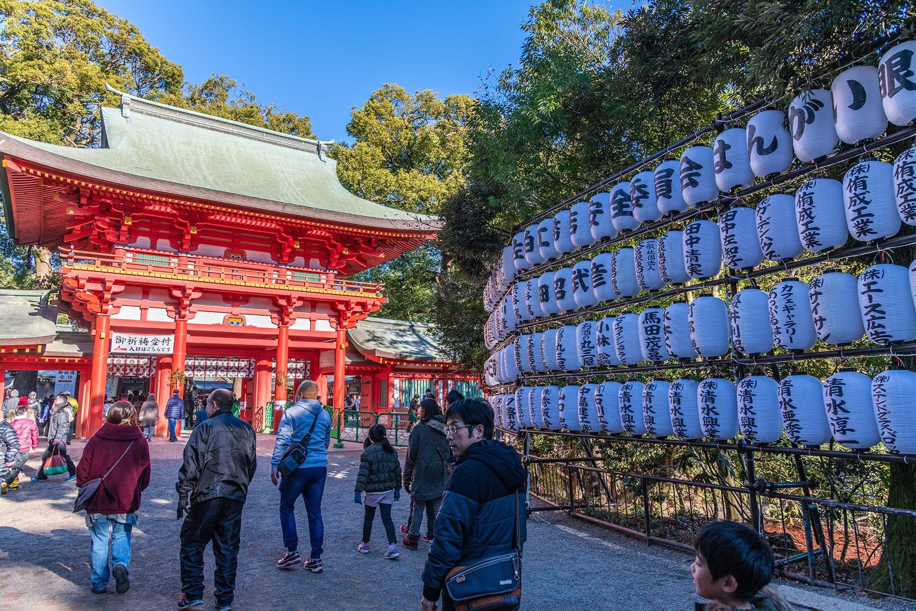 大宮氷川神社の初詣【大宮氷川神社|さいたま市】