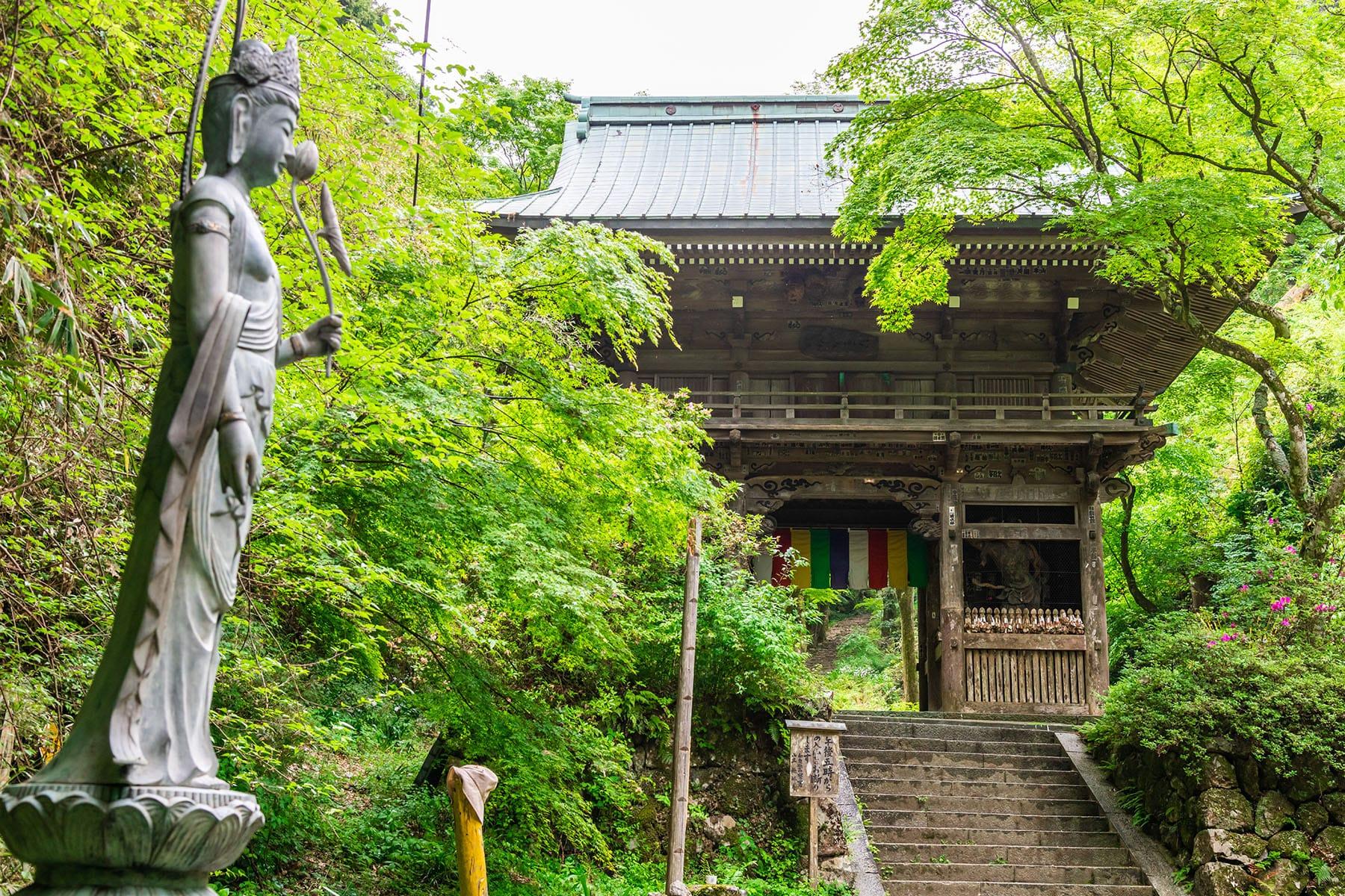 西国札所 第4番【槇尾山・施福寺】