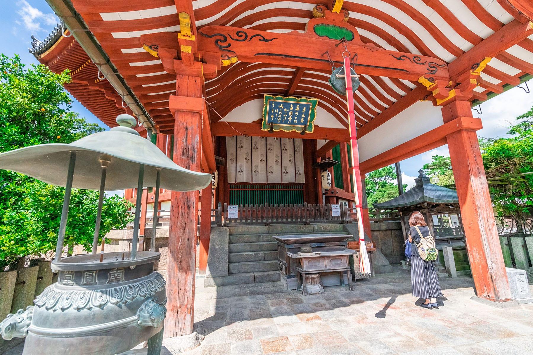西国札所 第9番【興福寺・南円堂】 | フォトさいたま