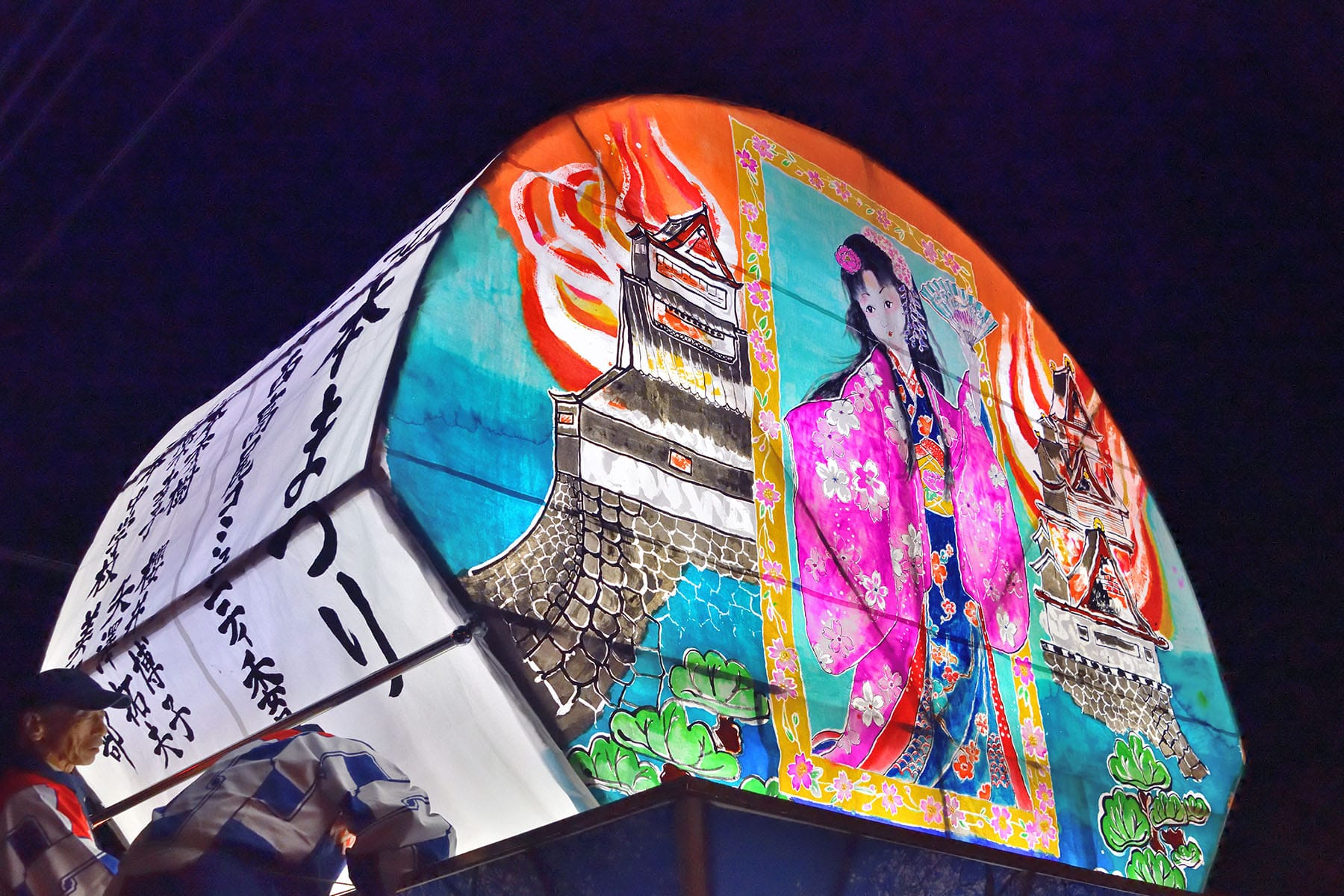 北本まつり(宵まつり)【北本駅西口・西中央通り:埼玉県北本市】