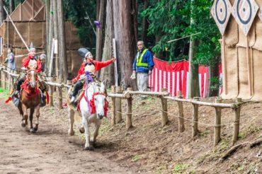 毛呂山町秋の流鏑馬