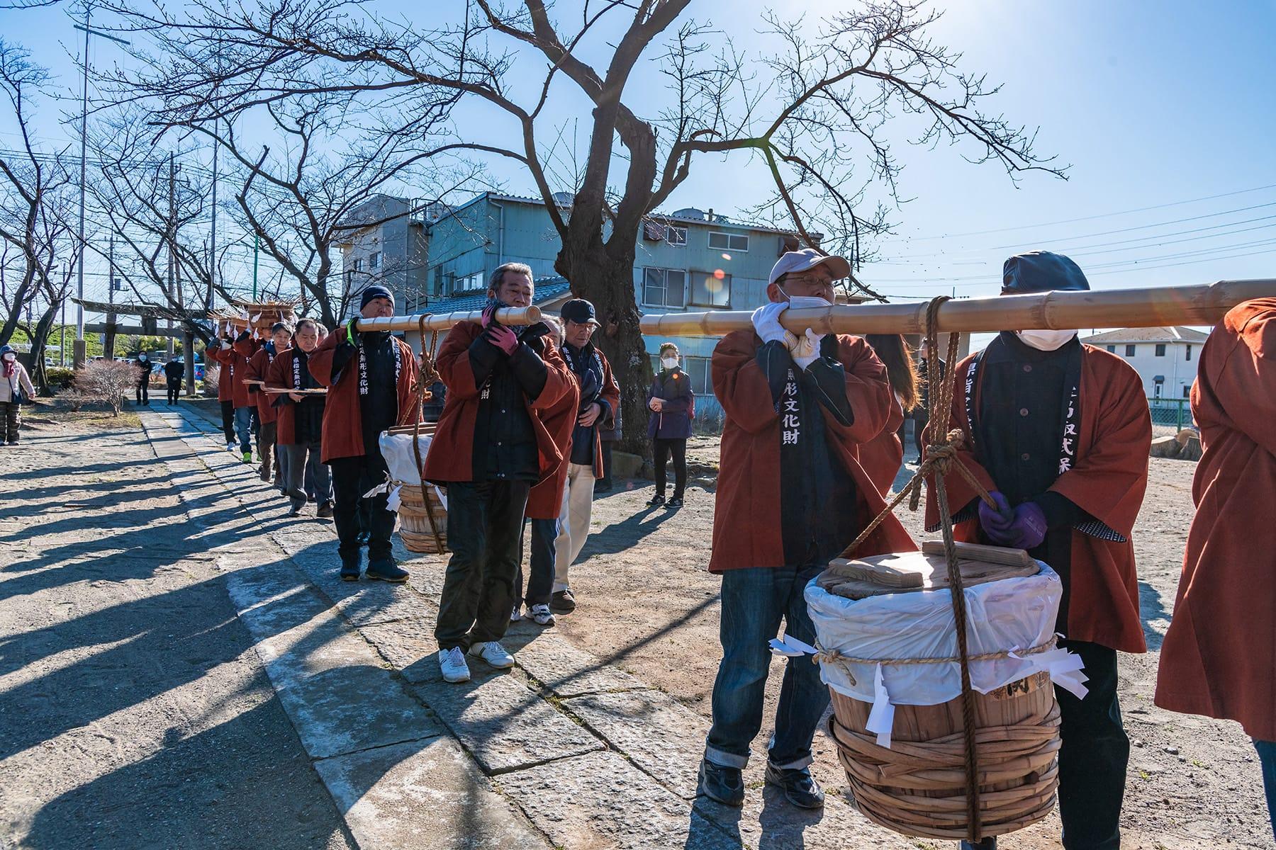 老袋の弓取式【下老袋 氷川神社|埼玉県川越市】 | フォトさいたま